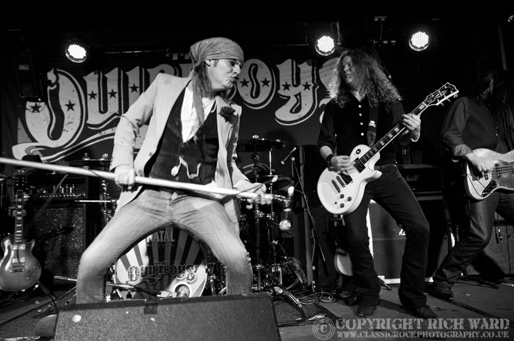Quireboys - Wolverhampton Slade Rooms, 25th November 2012;